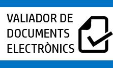 Validador documents electrònica