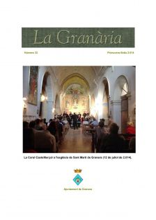 La Granària, núm.33. Primavera-Estiu 2014