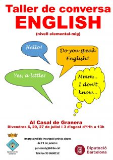 Taller anglès